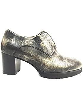 MELLUSO L5031 AFRICA Scarpa donna tacco francesina pelle made in Italy