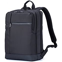 Xiaomi Notebook backpack of 15,6 inches, impermeable, three-ply, Super big, plenty of space and zipper, black square shaped black