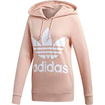adidas Trefoil Hoodie Hooded Sweat, Mujer, Dust Pink, 40