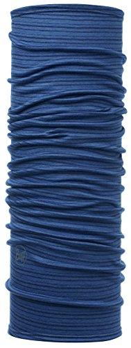 Buff Lightweight Merino Wool Multifunktionstuch, Denim Stripes, One Size (Wolle Schal Merino Stripe)