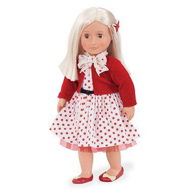 Nuestra Generación 44274 - Rose OG muñeca en estilo retro, 46 cm