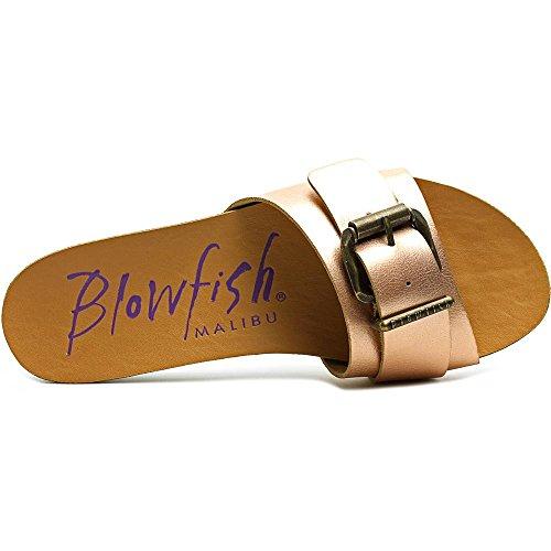 Blowfish Graph Damen Kunstleder Sandale Rose Gold