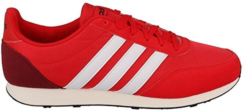 adidas V Racer 20 - BC0108 - Farbe: Rot - Größe: 40.0 -