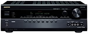 Onkyo TX-SR508 7.1 AV-Receiver (HDMI 1.4 mit 3D Video, ARC, HD-Audio, Dolby PL IIz, Universal Port, Gaming Modi) schwarz