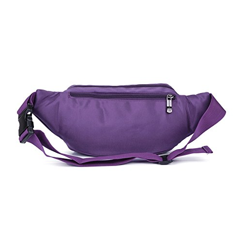 Wewod Taschen von Outdoor Sport Männer und Frauen lässig Tasche Wasserdichte Lila