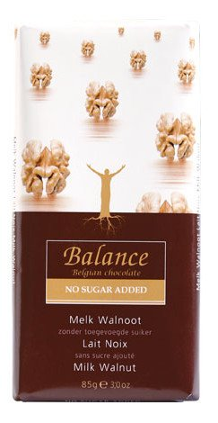Klingele Balance - Belgian Chocolate - Milk Walnut - 85g