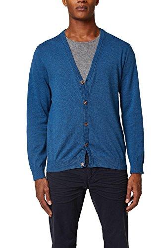 ESPRIT Herren Pullover 028EE2I026, Blau (Dark Blue 405), Medium