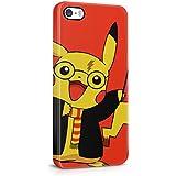 Harry Potter de Pikachu Pokemon iPhone 5/5S Plástico Duro Teléfono cubierta de la caja