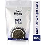 True Elements Raw Chia Seeds 500g