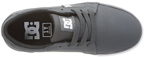 DC Shoes Council Nu, Chaussures de Skateboard garçon Gris - Grau (DARK SHADOW - DSD)