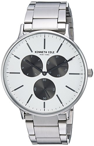 Kenneth Cole Men's Casual watch KC14946007 Black White Multi Stainless-Steel Quartz Fashion Watch