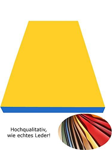 NiroSport Weichbodenmatte 200 x 100 x 8 cm Turnmatte Fitnessmatte Gymnastikmatte Sportmatte...