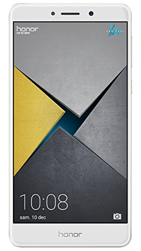 Honor 6X Pro Smartphone (13,97 cm (5,5 Zoll) Full HD Display, 64 GB Speicher, Android) gold - Huawei Dual-sim 6 Plus Mit Honor