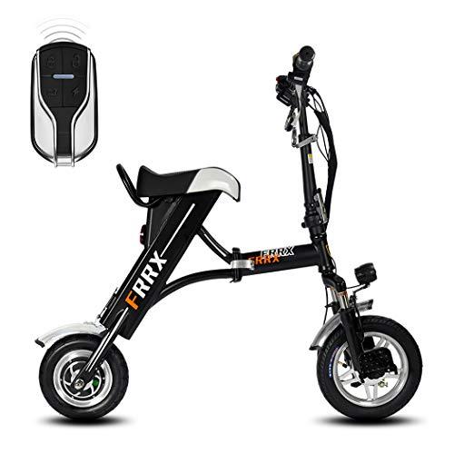 SSCJ Elektrisches faltendes Fahrrad-Minierwachsener elektrischer Roller-tragbarer Stoßdämpfer-Fahrrad mit Fernbedienung die,21AH80km