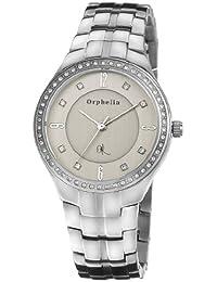 Orphelia Damen-Armbanduhr XS Analog Quarz Edelstahl OR22270388