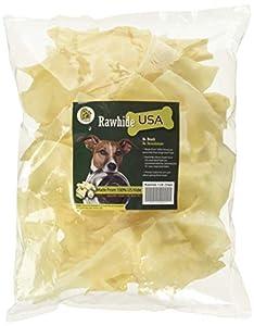 Pet Magasin Chips de Peau de Boeuf pour Chiens (450 g), sans arômes artificiels, friandise délicieux pour Chiens et Autres Animaux domestiques, à Haute teneur en protéines et Faible en Gras