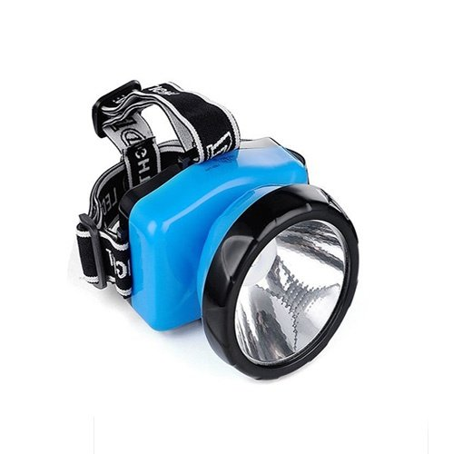 DFS's RECHARGEABLE LED HIGH-POWER HEAD-MOUNTED EMERGENCY LIGHT with 90 degrees adjustable head  available at amazon for Rs.199