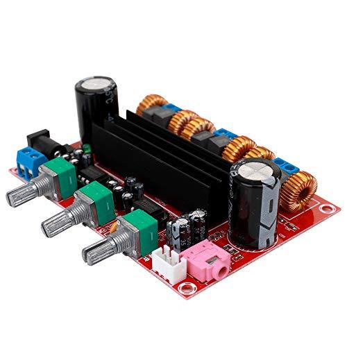 KKmoon 4,2 Kanal Digital Subwoofer Endstufe TPA3116D2 2 * 50 Watt + 100 Watt Subwoofer 50w
