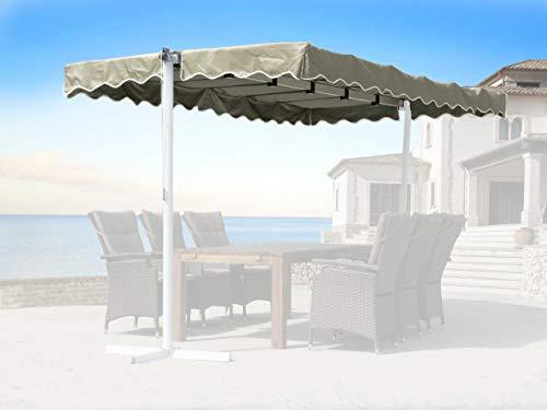 QUICK STAR Ersatzdach Standmarkise Dubai Markise Sand