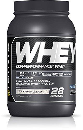 Cellucor - COR-Performance Whey - 100% proteína de suero de leche en polvo - Absorción rápida - G4_v2 - Galletas y nata - 28 raciones