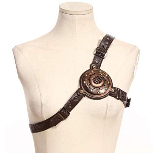 LLU Explosive Steampunk Steampunk Kostümzubehör Brustschnalle (Explosive Gürtel Kostüm)