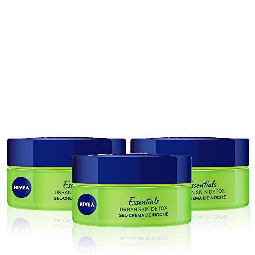NIVEA Urban Skin Detox Cuidado Noche Gel-Crema pack
