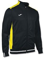 Joma - Chaqueta campus ii negro-amarillo para hombre