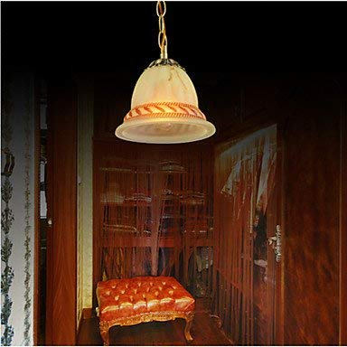 Deckenleuchte-bronze-anhänger (BinLZ Chandelier Moderne Kronleuchter Deckenleuchten Anhänger Kronleuchter Bronze-Europäer 220V Vintage 3C Ce FCC Rohs für Wohnzimmer Schlafzimmer)