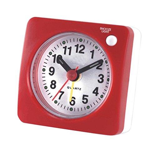 F Fityle Reloj Despertador Ultra Pequeño