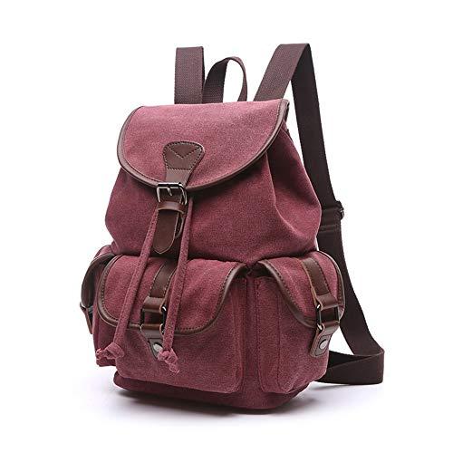 WMQQ Canvas-Rucksackmode Leinwand Im Freien Reise Crossbody Brusttasche Unisex Einzelne Umhängetasche