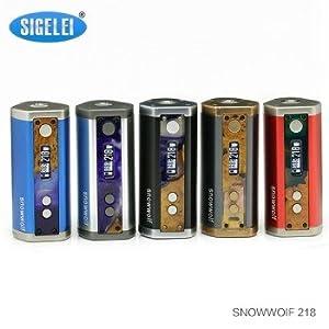 Sigelei Snowwolf 218 218W TC Akkuträger