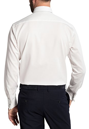 Eterna Long Sleeve Shirt Modern Fit Marcella Structured Champagne