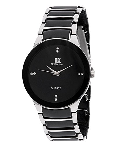 IIK-Collection-Analog-Black-Dial-Mens-Watch