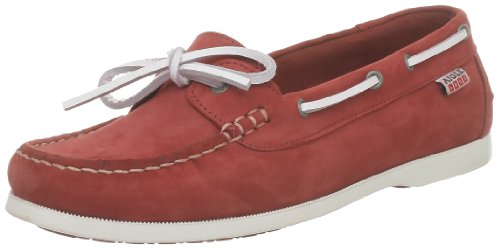 Aigle Damen Americasual W Bootsschuhe marine - Rot (paprika nb)