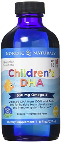 Nordic Naturals, Kinderspielplatz DHA, Erdbeergeschmack, 8 fl oz (237 ml)