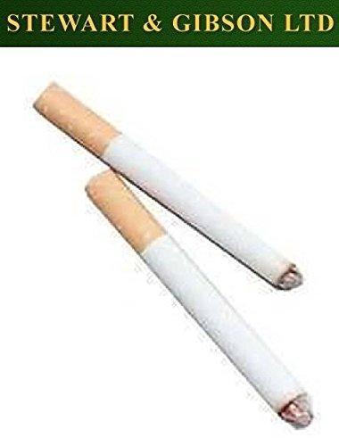 Lustiger Mann - gefälschte Zigaretten, nur für Erwachsene