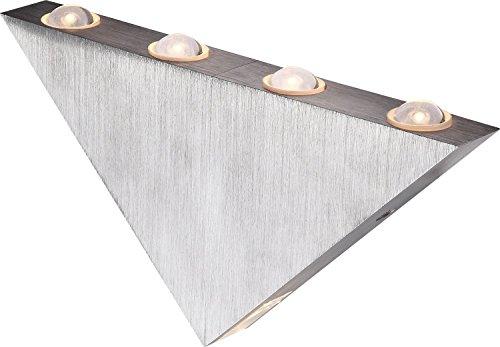 elegante-led-wandleuchte-aluminium-geburstet-acryl-1w-globo-gordon-7602