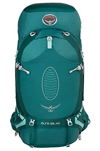 Osprey Aura AG 65 Womens Hiking Backpack blau