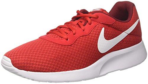 Nike Tanjun, Scarpe da Corsa Uomo Multicolore (Multicolore - Rojo / Blanco (University Red / White-Team Red))