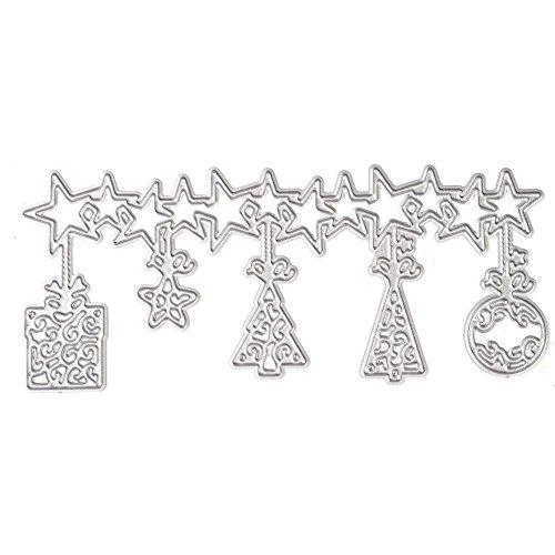 chengya Cirrus DIY Formen Metall Embossing Schablone für Scrapbook Album Karte Papier Craft