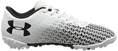 Under Armour Ua Cf Force 3.0 Tf Jr, Chaussures de Football Mixte Enfant Blanc (White 100)