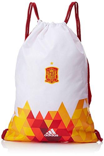 adidas Federación Española de Fútbol LEG/ANAR GB - Bolsa, color escarlata / blanco, talla unica