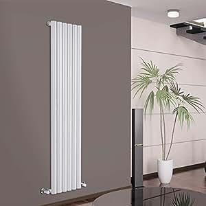hudson reed radiateur chauffage central design vertical acier blanc 160 x 35cm gamme. Black Bedroom Furniture Sets. Home Design Ideas