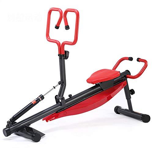 T-XYD Rudergerät Home Hydraulisches Multifunktions-Rudergerät Verstellbarer Rückentrainer Bauchbrett Sit-Ups Bank Fitnesstraining