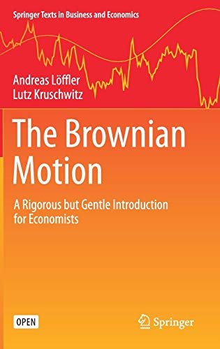 Zoom IMG-1 the brownian motion a rigorous
