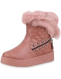 63b632d658eeb1 Suchergebnis auf Amazon.de für  fell fell - Pink   Stiefel ...