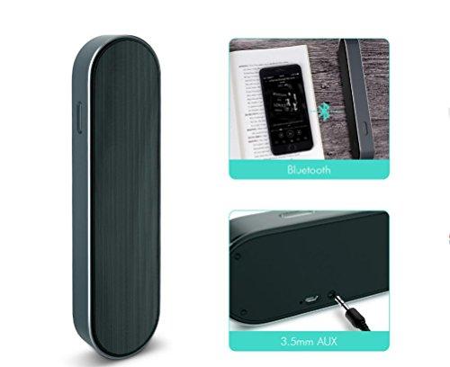 JSGJYX Bluetooth Lautsprecher 1 PSC Bluetooth Lautsprecher 3D Stereo Super Bass Wireless Speaker 2000 mAh Aux Portable Sound Box für iPhone Smartphone Tablet