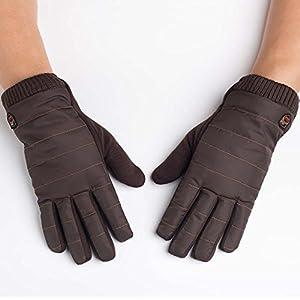 Unbekannt XIAOYAN Handschuhe Sporthandschuhe Herren Fahrradhandschuhe Herbst/Herbst/Winter FahrradhandschuheKeep Warm/Anti-Schleudern/Wasserdicht/Atmungsaktiv Bequem
