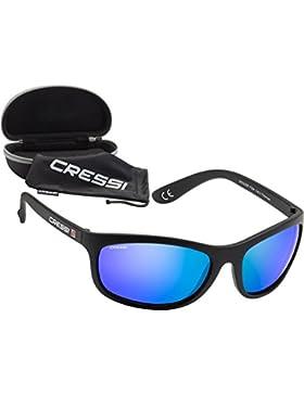 Cressi Rocker - Gafas polarizadas desol para hombre, cristales polarizados 100% anti-UV