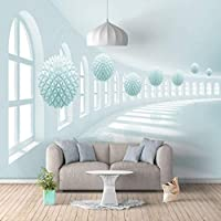 Nmw Art Murals, 3D Space Expansion Arte Mural Papel Pintado para salón Dormitorio Fondo de Pared para Pared, Ver Imagen, 1 ㎡